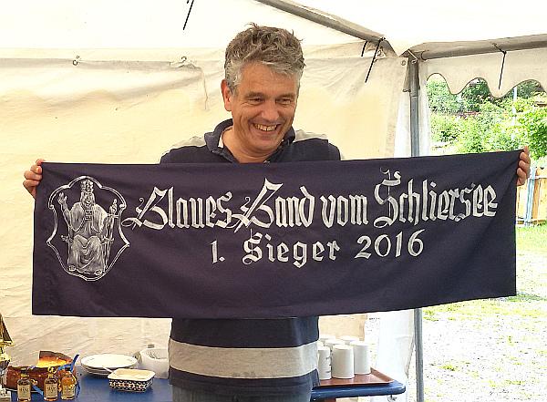 """Sieger """"Blaues Band 2016"""" Andi Roßteuscher"""